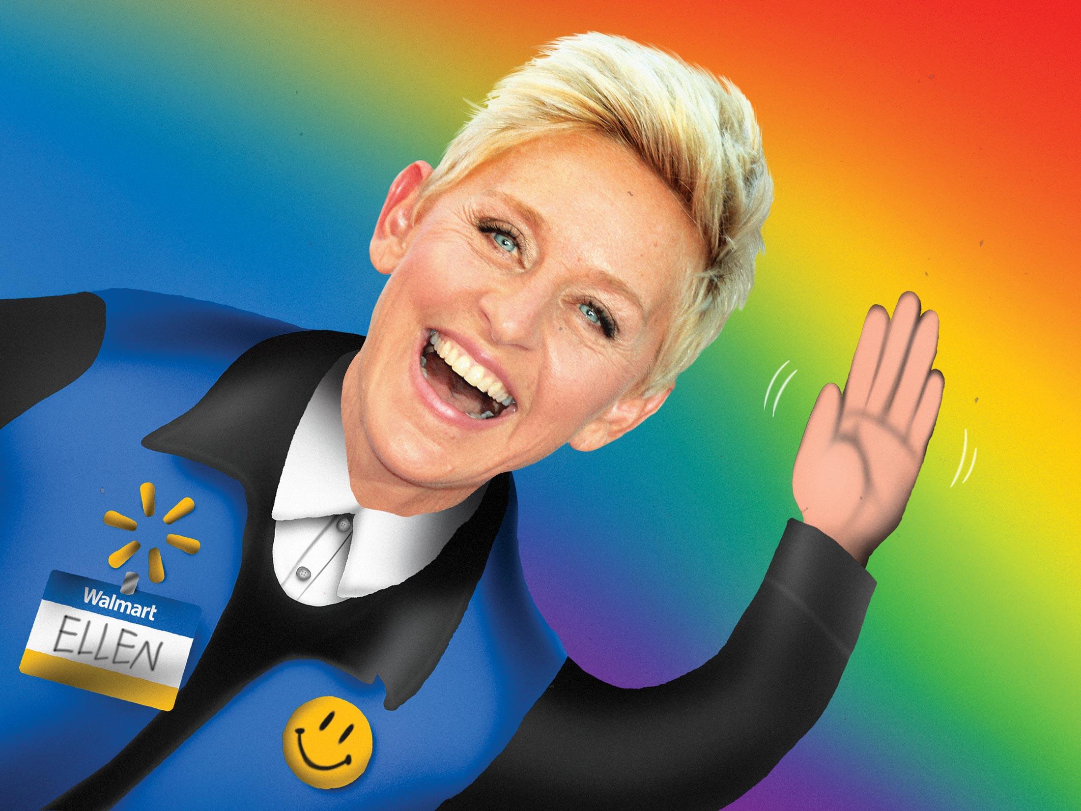 Walmart's Deal With Ellen DeGeneres Shows How Much America Has Changed