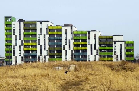 Newly-constructed Residential Apartments In Orestad