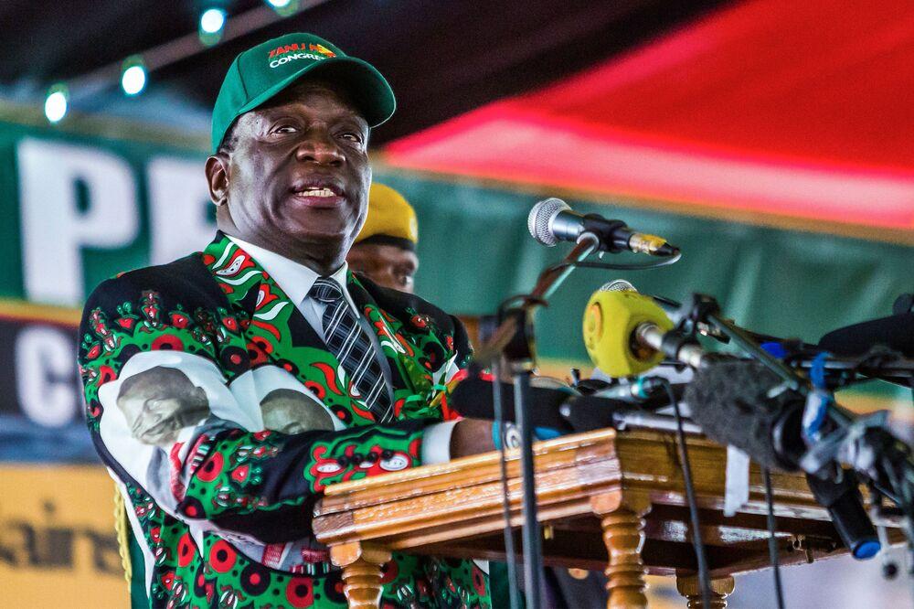Zanu-PF Backs Mnangagwa as 2018 Zimbabwe Presidential Candidate