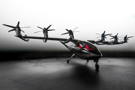 Airlines Plan to Plow Billions IntoFlying Taxis