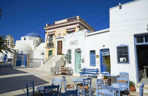 The town of Hora, on Serifos.