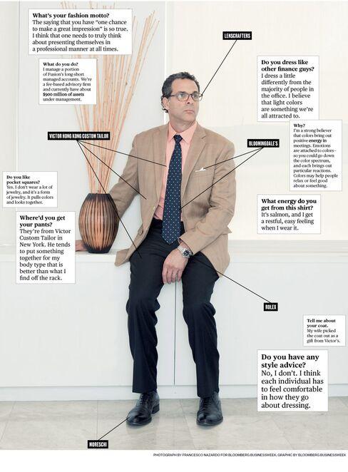 What I Wear to Work: Fusion Analytics' Michael Needleman