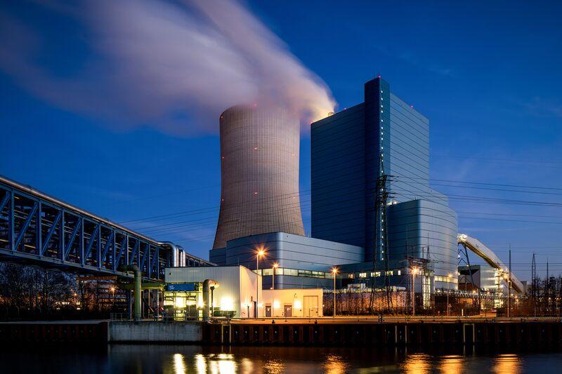 The Uniper power plant Datteln 4.