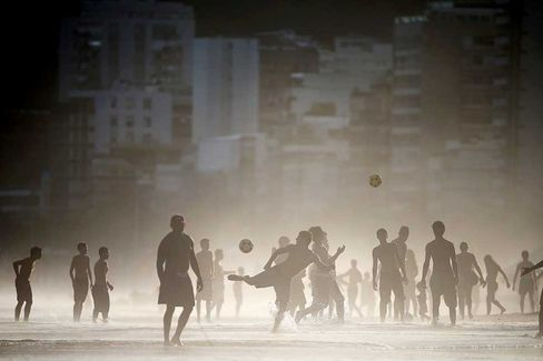 Brazil's SuperUber Brings Techno Art to the World Cup