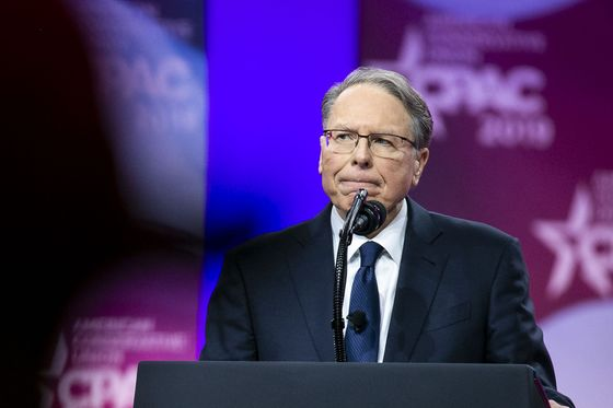 NRA Re-Elects Embattled Leader Wayne LaPierre