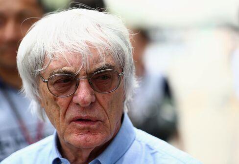 Ferrari CEO Bernie Ecclestone
