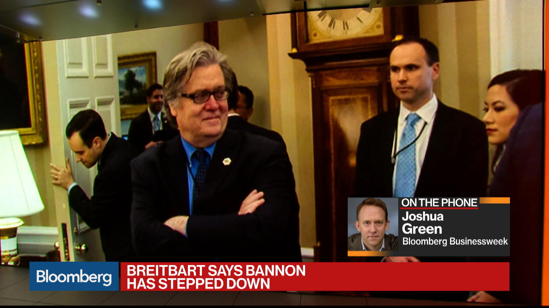 Bannon Leaves Breitbart After Trump Feud - Bloomberg