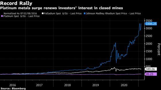 Northam Is Said to Consider Bidding for Bokoni Platinum Mine