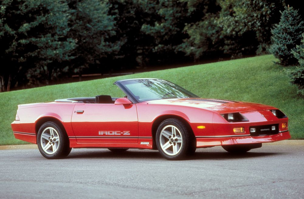 The IROC Z Is Your Best Investment for a Classic Camaro - Bloomberg