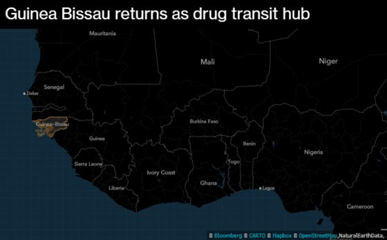 Record Cocaine Busts Signal West Africa Is Transit Hub Again