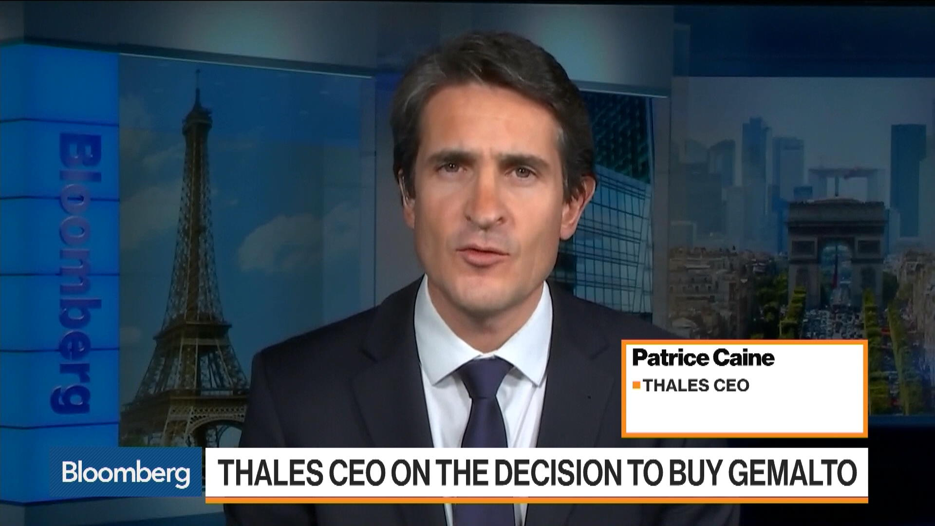 Thales's 12-Month Hunt of Gemalto Ends With a Deal - Bloomberg