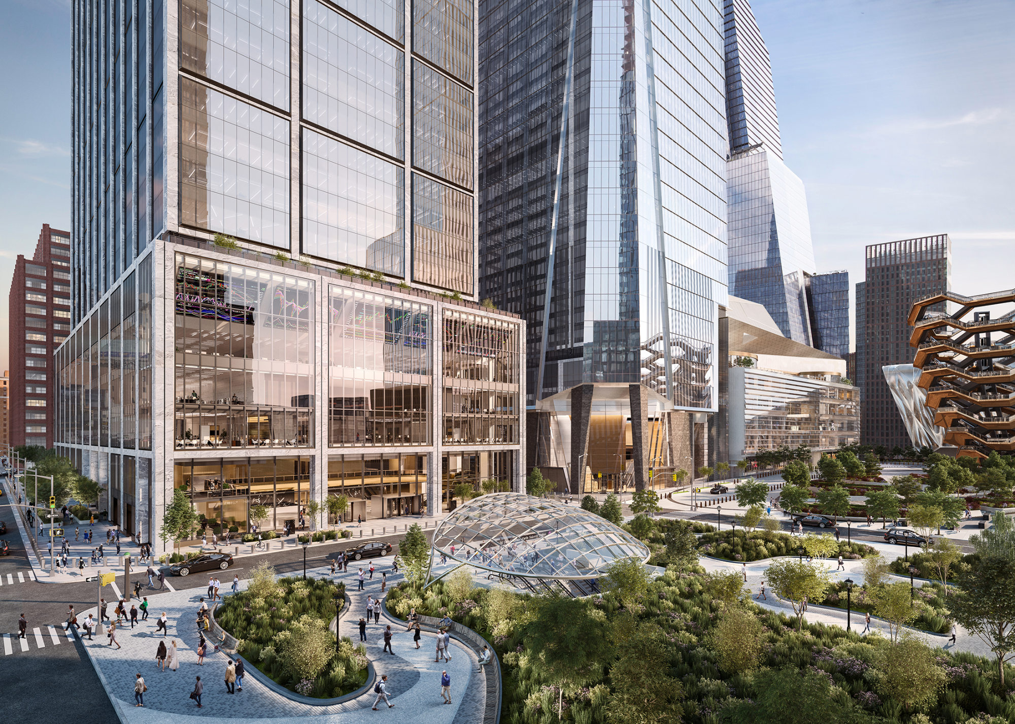 Facebook Is In Talks To Lease Space At Hudson Yards Skyscraper Bloomberg