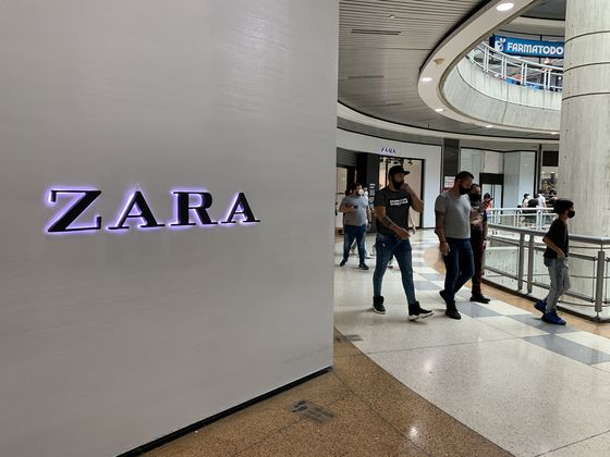 Zara Stores to Close in Venezuela as Inditex Brands Exit