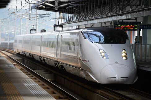 JR九州の800系新幹線
