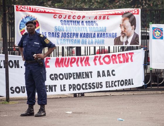 Congo Leader Says Delayed Vote Will Take Place in December