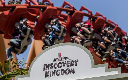Six Flags Discovery Kingdom Amusement Park