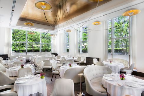 Jean-Georges's main room is for destination dining.