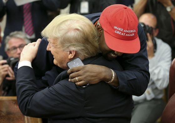 Kanye in the Oval: Hydrogen-Powered Planes and a 'Superman' MAGA Hat