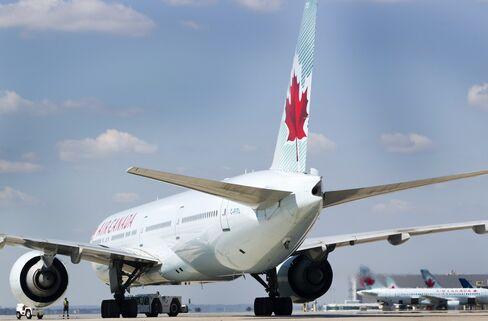 Air Canada Boeing Aircraft