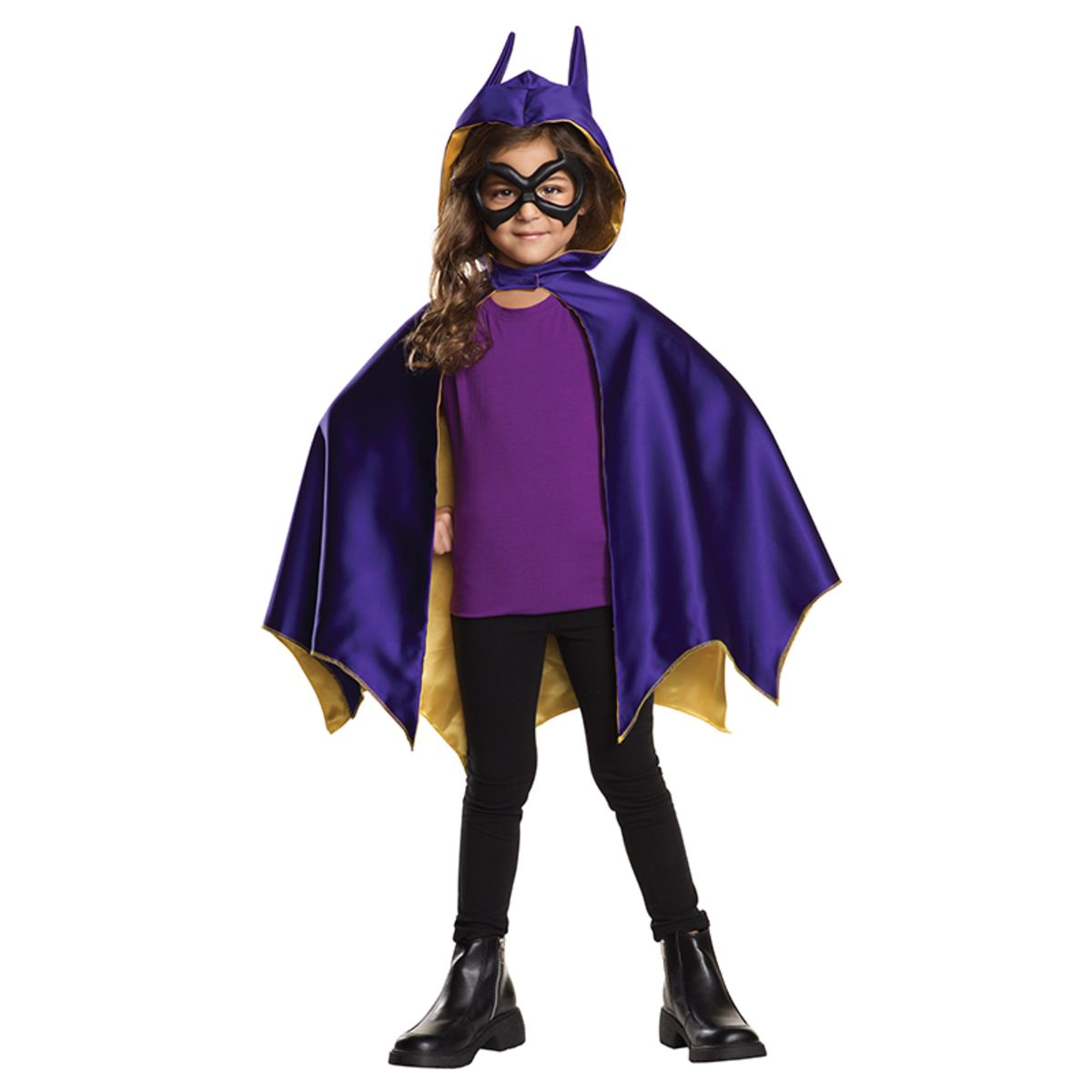 Dc Comics Girls Deluxe Batgirl Superhero Childs Halloween Costume