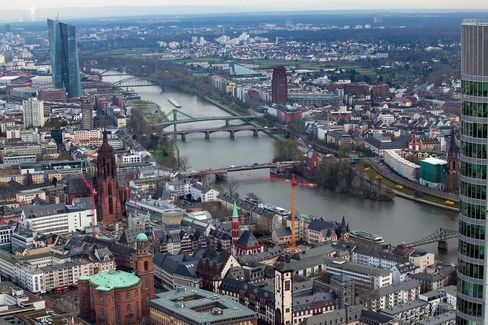 Frankfurt only has 11 fintech firms, lagging behind a number of other German cities