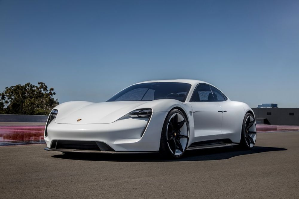 Porsche Electric Taycan Most Important Car 2019 Bloomberg
