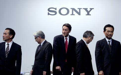 Sony Corp. CEO Kazuo Hirai