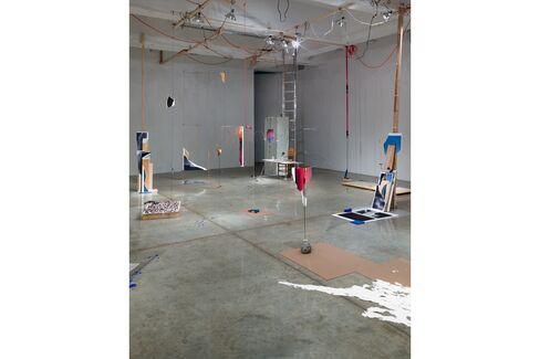 Installation view, Sarah Sze, various works, Tanya Bonakdar Gallery