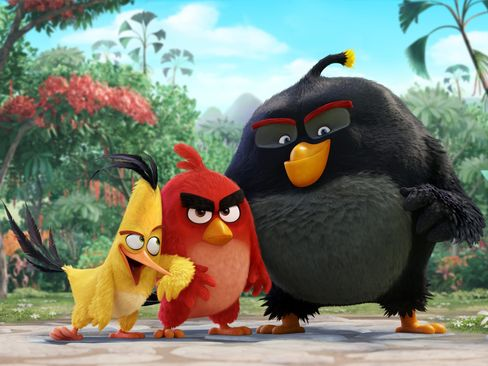 3-D Angry Birds Movie
