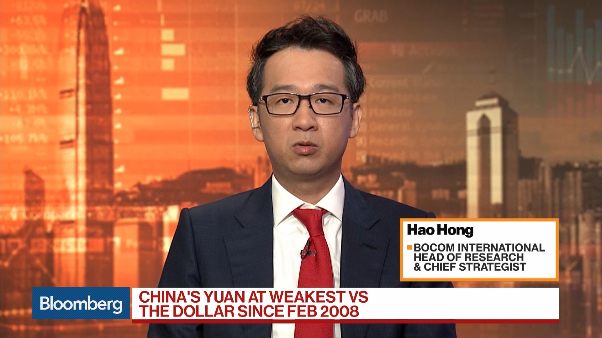 Bocom International Head of Research and Chief Strategist Hao Hong on U.S.-China Trade War, Markets
