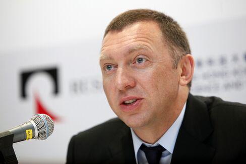 United Co. Rusal CEO Oleg Deripaska