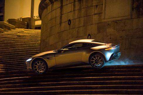 Spectre is the first film to used an Aston Martin specially and exclusively made for the series.
