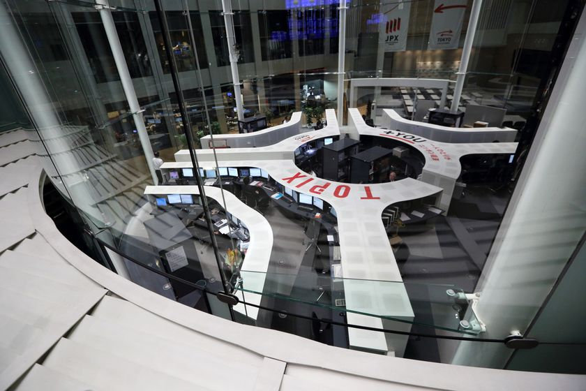 Japan's Nikkei 225 Stock Average Rises Above 16,000 For First Time Since 2007