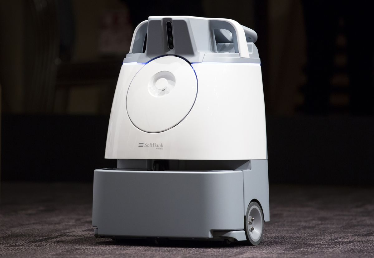 SoftBank Is Selling a Roomba Competitor in the U.S.