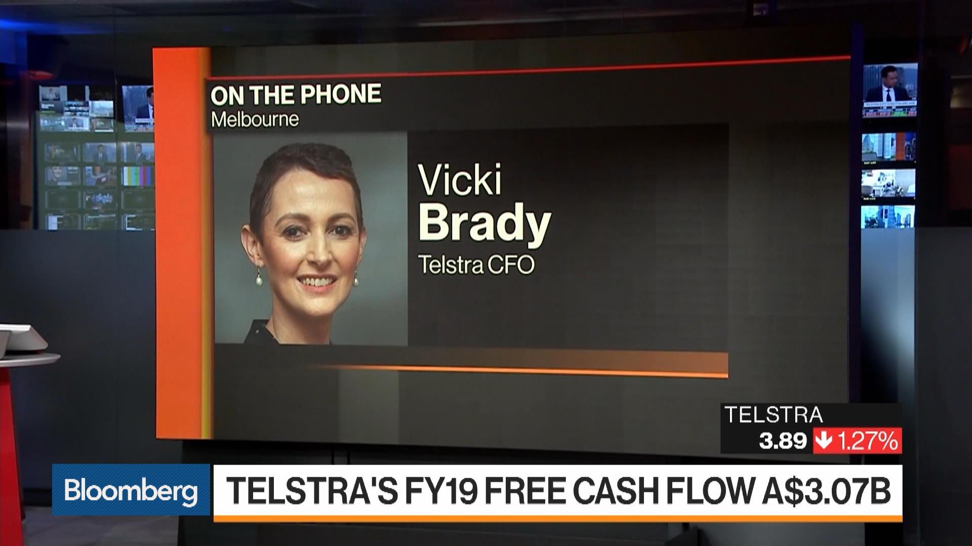 Telstra CFO Vicki Brady on Earnings