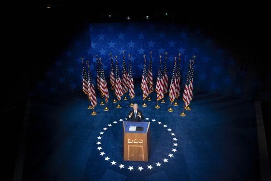 Joe Biden Vows to Return Hope to America After 'Darkness' of Trump