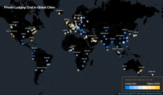 These Are the World's Most Expensive Airbnb Cities