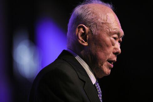 Lee Kuan Yew.