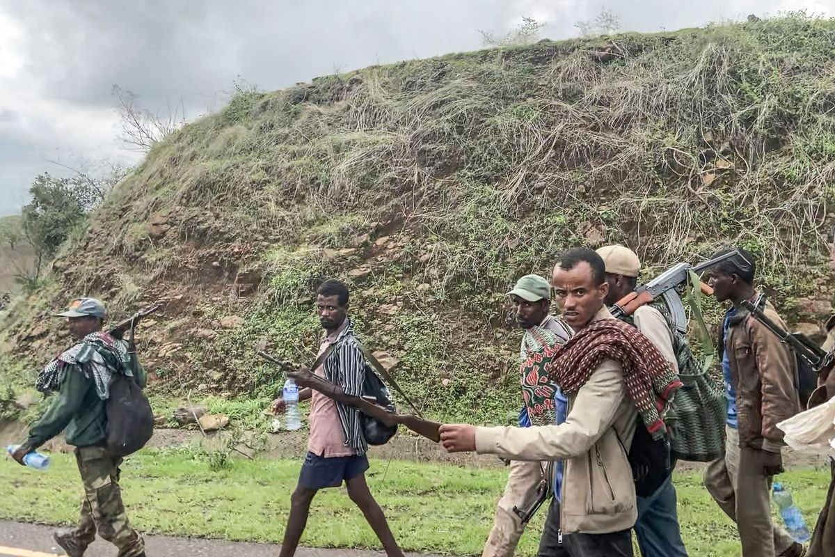 Ethiopian Regional Leader Urges Amhara Ethnic Group to Join War