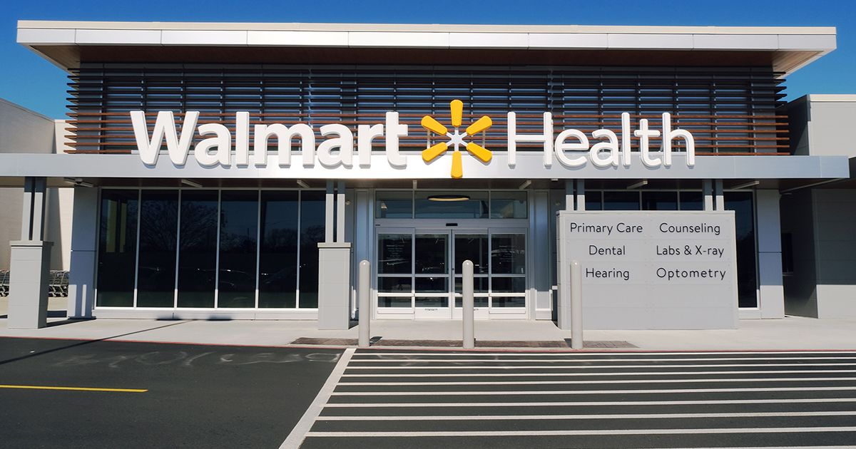 Checkup for $30, Teeth Cleaning $25: Walmart Gets Into Health Care