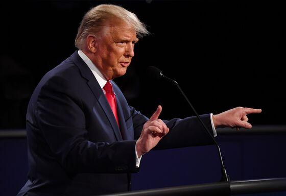Trump Keeps Cool in Debate Yet Gains Little Ground on Biden