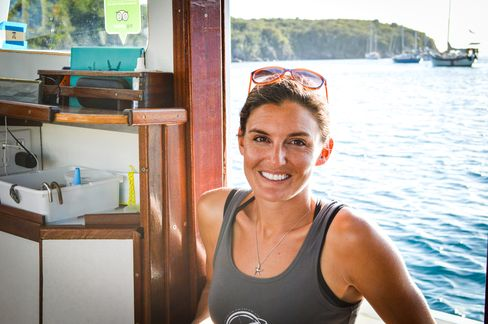 Tara Bouis was already an award-winning yacht chef before trying her hand at slinging pizza.