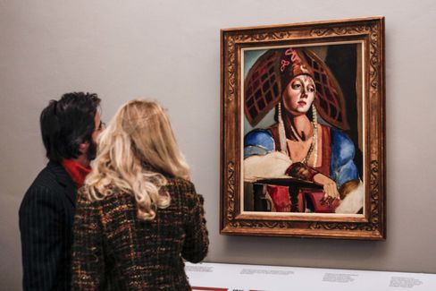 The exhibition in Torino had more than 80 works.