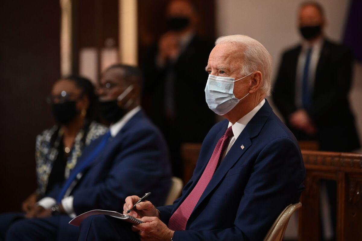 Trump Rattles Saber While Biden Listens in Split-Screen Moment