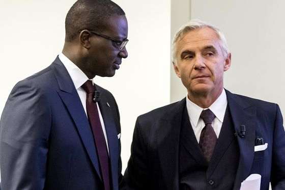 Credit Suisse Power Struggle Erupts Before Board Meeting