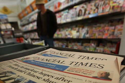 Pearson Said to Explore Sale of the Financial Times