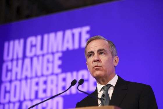 Brookfield's Carney Is Hounded by Trudeau Critic at Green Economy Hearing
