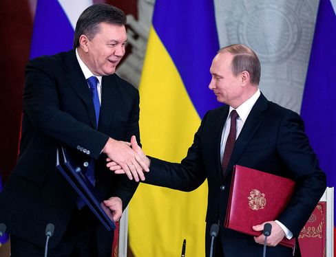 There's a $3 billion Eurobond due in December that former President Viktor Yanukovych sold to Russia shortly before his ouster in February 2014 and Vladimir Putin's annexation of Crimea a month later.