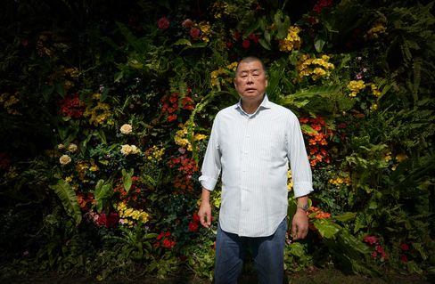 Jimmy Lai, photographed in his Hong Kong home.