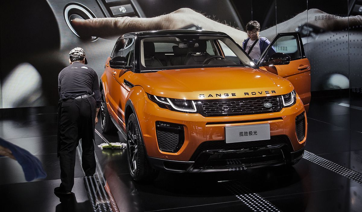 Jaguar Land Rover Unsure It'll Recoup China Sales Lost to Virus